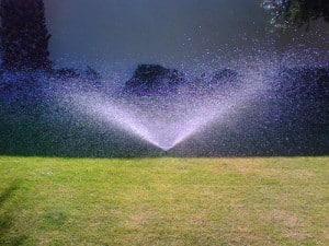 proper lawn irrigation