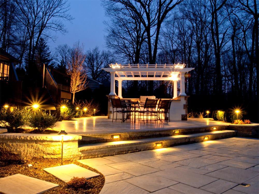 10 Great Deck Lighting Ideas For Your Outdoor Patio: Landscape Lighting In Orlando