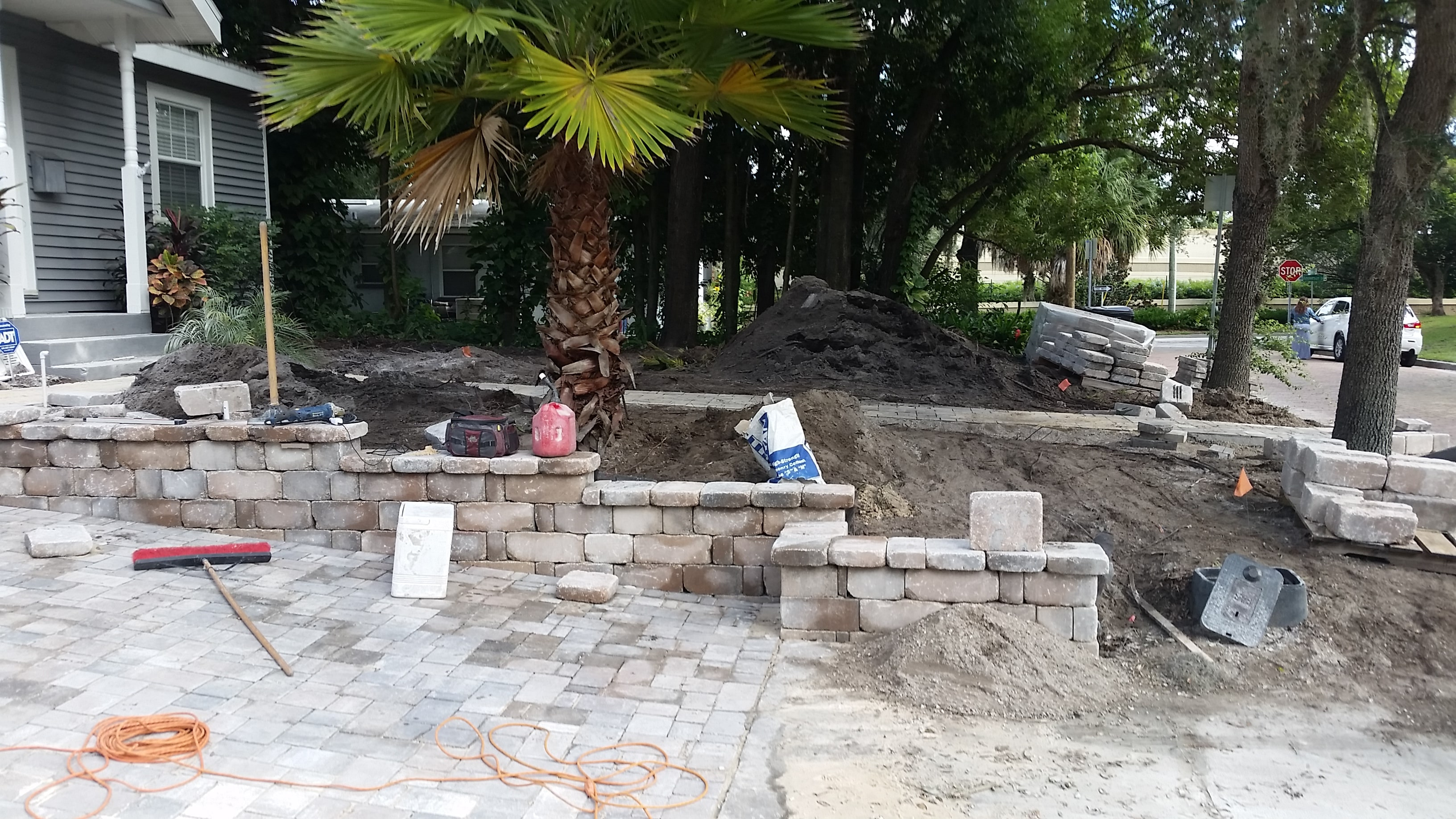 Retaining Wall in Orlando
