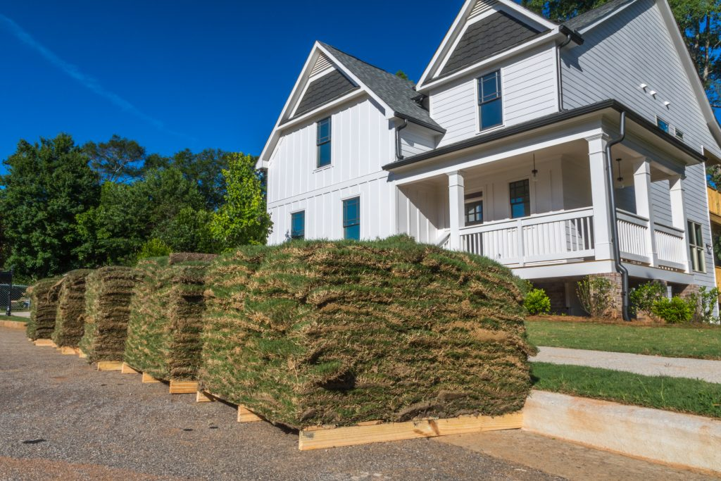 Clermont sod delivery and installation