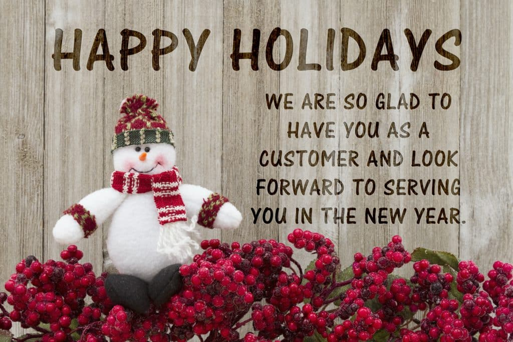Happy Holidays from Ground Source